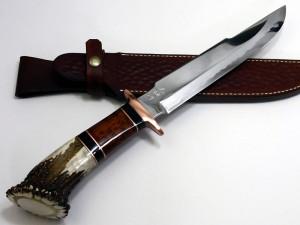 【大祐作】 白紙1号本割込 狩猟刀220