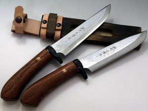 浅井丸勝作 V金10号 多層鋼ナイフ