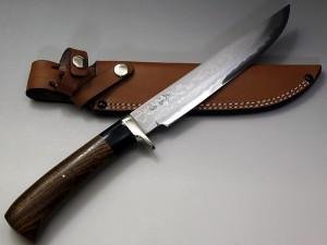 西田刃物工房『大祐作 多層鋼白紙本割込ナイフ220』