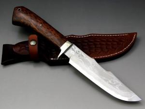 大祐作多層鋼白紙本割込ナイフ155