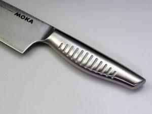 MOKA V金10号 ダマスカス一体型包丁