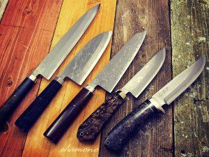 西田刃物工房 大祐作 多層鋼ナイフ・包丁