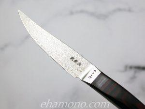 なみ コアレスダマスカス鋼ステーキナイフ 刀身
